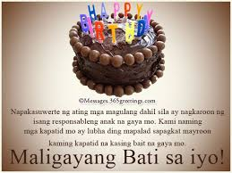 the 25 best birthday message tagalog ideas on pinterest happy