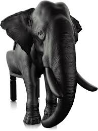 the majestic elephant chair