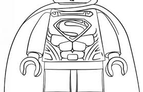 lego superman coloring pages colorings