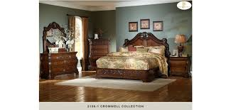 Traditional Bedroom Sets - 2106 cromwell cherry solid wood traditional bedroom set