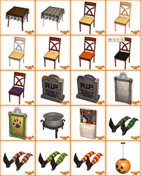 hallowen download mod the sims the sims 2 halloween pack 30 objects recolors
