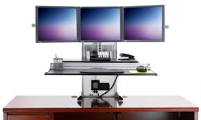 Computer Stand Up Desk by Monitor Stand For Desk Home Painting Ideas