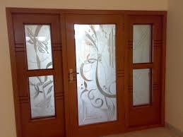 bevelled glass door glass door and frame