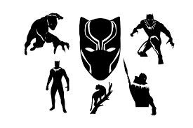 panther black panther t shirt teepublic black panther by svg