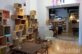 signage shelves atthe glad cafe inhabitat u2013 green design