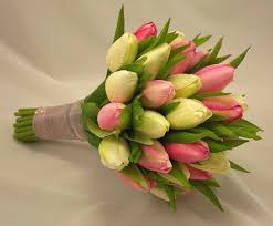 artificial wedding bouquets pink tulip bridal posy bouquet wedding bouquets silk