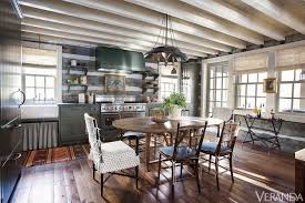 mix and chic home tour a rustic and refined tennessee log cabin