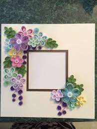 photo frame cards quilled card paper quilling quilled photo frame by papersimplicity