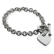 tiffany silver bracelet with heart images Heart tag bracelet eve 39 s addiction jpg