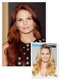 red public hair pics jennifer morrison s new red hair do you like it instyle com