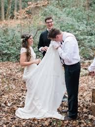 moonlight real bride style j6361 lace crop top wedding dress