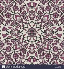tapeten vintage stilisierte blumen orientalische tapeten retro nahtlose abstrakten