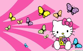 hd kitty wallpaper