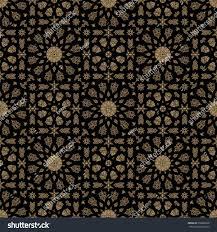 Morrocan Design Seamless Islamic Moroccan Pattern Arabic Geometric Stock Vector