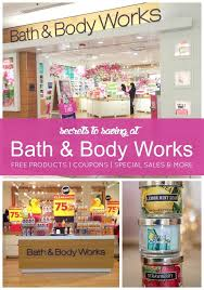 bath and body works black friday coupons secrets to saving money at bath and body works free products