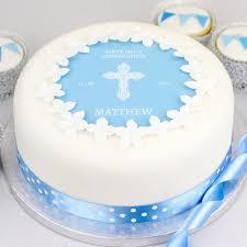 baptism cake decorations ebay