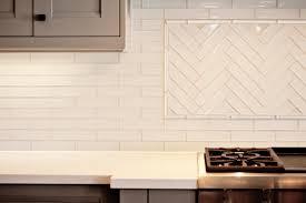 white glass tile backsplash kitchen white glass linear tiles design ideas