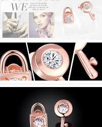 boucle d oreille anti allergique vente en gros bracelet antiallergique plaqué or en cristal