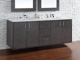 abstron 72 inch silver oak finish bathroom vanity stone