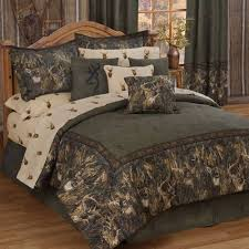 Brown Queen Size Comforter Sets Shop Browning Whitetail Deer Bed Sets The Home Decorating Company