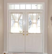 Small Door Curtains Diy By Mrc Entryway Upgrade Front Door Curtains In Window