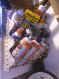 Spray Cans Paint - best 25 spray paint storage ideas on pinterest workshop
