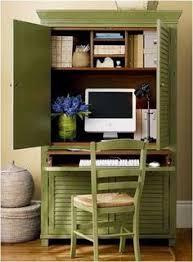 bureau dans une armoire gain de place créez votre bureau dans une armoire 14 of and places