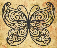 butterfly svg dxf png eps cdr print and cut files cricut