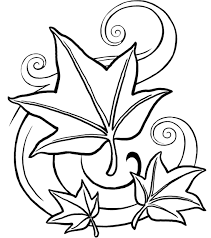 fall leaf coloring pages print images printable coloring