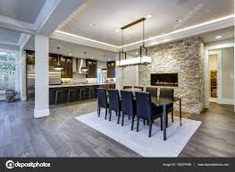 modern open floor plans modern open floor plan dining room design stock photo iriana88w