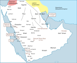Location Of The Ottoman Empire by Pre Islamic Arabia Boundless World History