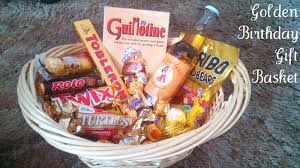 birthday gift baskets for him golden birthday gift basket on my side of the room
