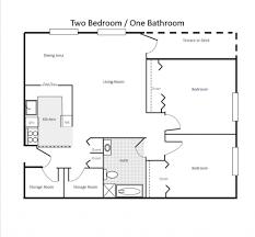 Open Floor Plan Ideas by 2 Bedroom Bath Open Floor Plans Ideas Including Stylish For