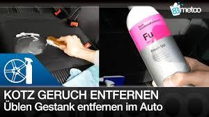 gerüche entfernen anleitung kotze erbrochenes aus autositz entfernen auto geruch