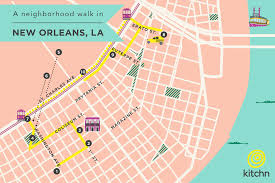 New Orleans Street Map At Home In New Orleans With Juley Le Kitchn