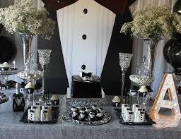 Birthday Party Decoration Ideas For Adults Tuxedo Birthday