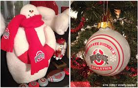 Ohio State Home Decor by Eye Candy Creative Studio Home Man Cave Christmas Decor Osu Tree