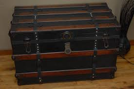 Vintage Trunk Coffee Table Metal Steamer Trunk Coffee Table U2014 Home Design And Decor Antique