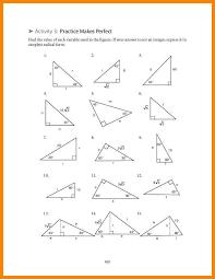 8 special triangles worksheet liquor samples