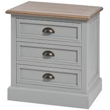 vintage grey bedside table country style bedroom furniture