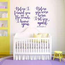 Scripture Wall Decals For Nursery Best Scripture Wall Decal Products On Wanelo