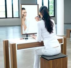 Flip Top Vanity Table Vanities Custom Vanities Home Depot Contemporary Vanity Set