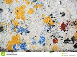 random background collage paint texture on wall stock photo