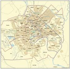 San Jose District Map by Baghdad Map