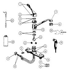 kitchen faucet parts peerless kitchen faucet parts diagram valvehome us