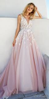 blush wedding dress lendel 2017 wedding dresses santorini bridal caign