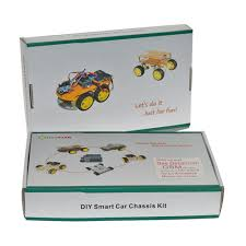 diy engineering projects 4wd diy smart robot electroic car chassis kit for school robotics