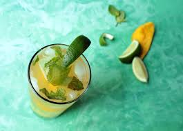 mango mojito recipe welcome summer with mangoes and goat cheese