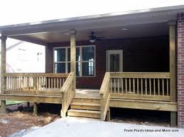 Porch Steps Handrail How To Build Steps How To Build A Porch Porch Steps