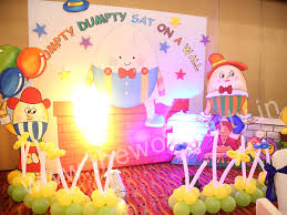 Nursery Rhymes Decorations by 1st Birthday Themes Birthday Party Organizers Event Planners